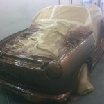 Figaro resprayed in the oven