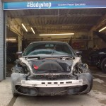 3. Porsche 996 Front wings/bumper Lights removed