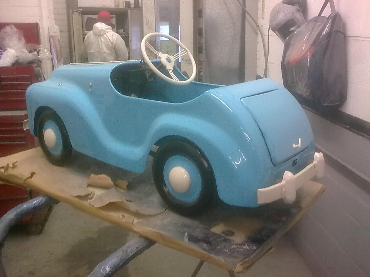 Small Repair. Small Car.   The Body Shop