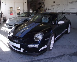 Porsche GT3RS and Porsche 911 Classic