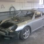 Porsche Classic ready for prepwork