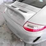 Porsche Classic Ducktail boot deck with decals