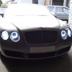 Bentley headlamp conversion