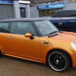 BMW Mini scratch repairs, dent removal essex