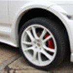 Porsche caliper and alloy wheel refurbishment