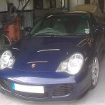 Porsche 911 car body repaits and paint