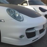Porsche 997 car body repairs & car scratch repair