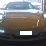 Porsche Carrera car body repairs