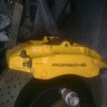 Porsche Caliper Refurbishment