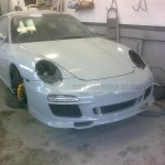 Porsche 996 to Porsche Classic fitting in progress