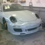 Porsche 996 to Porsche Classic fitting in progress