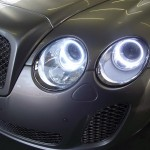 Bentley GT conversion with Angel Eyes