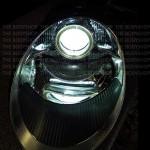 Porsche 997 headlight upgrade to Angel eye