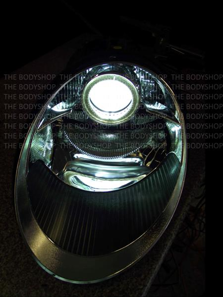 Porsche 997 Angel Eye Halo Headlight The Body Shop
