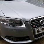 Audi A4 Bonnet repainted
