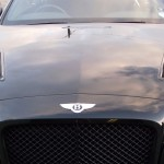 Bentley GT base model bonnet now upgraded to the Supersport.