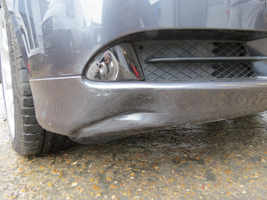 Damaged bumpers are a regular part of our repair programme