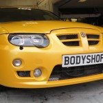 Car repair Essex, dented door, dented bumper, scratches to paintwork