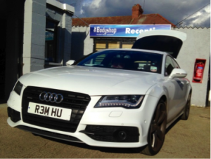 used audi, audi scratch repair, audi repairs essex