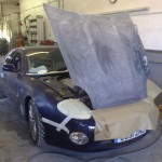 Aston Martin work in progress 1