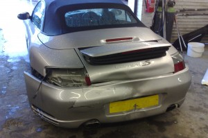 Porsche accident repair