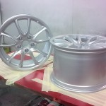 6. Front and rear wheels for Porsche 997