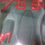 85. Carbon Front Seats