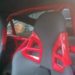 88. Seat and roll bar
