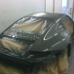 65. Rear of GT3 in top coat
