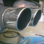 69. Stainless Steel Tailpipe