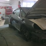16. New wing and bonnet