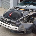 4. Porsche 996 Front wings/bumper Lights removed