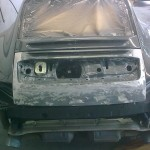 40. Genuine bootlid used to build our GT3 look