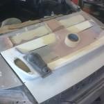 52. Bootdeck under fabrication