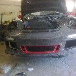 79. Front Bumper fitted to vehicle