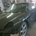 67. GT3 in top coat ready for fitting up