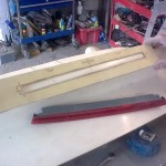 46. Template for boot deck lamp