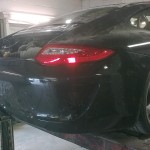 76. New LED lamps fitted also showing rear bumper fabricated by The Bodyshop
