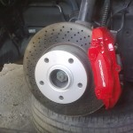 75. Calipers now in colour and fitted