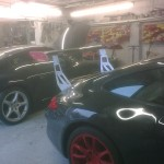 92. O/S Rear with a Porsche 997 in the backround