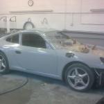 Porsche Classic in colour