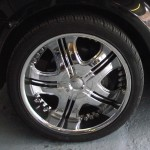 Range Rover Chrome Finish Wheel