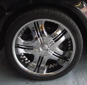 Range Rover Chrome Finish Wheel