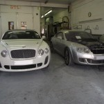 Bentley workshop