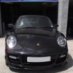 Porsche 911 car body repairs and accident damage