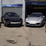Porsche accident repairs centre
