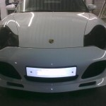 Porsche 997 headlight and hid kit