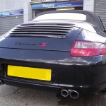 Porsche Carrera 4S scratch repairs
