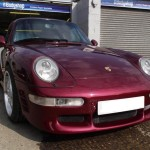 Porsche 993 bumper repairs London & Essex