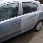 Vauxhall Corsa door repair